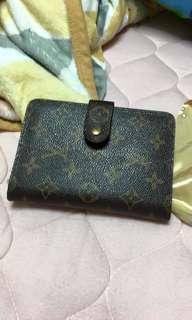 Authentic louis vuitton monogram Bilfold wallet