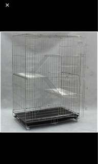 Pet Cage stainless steel