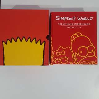 THE SIMPSONS ultimate guide season 1-20