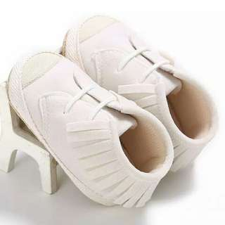 Fashion Newborn Toddler Tassel Soft Sole Baby Kids Boys Girls Crib Shoes 0-18M