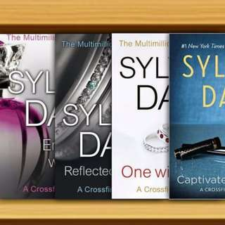 BN - Entwined With You, Reflected in You, One with You, Captivated by You : Crossfire Book By Sylvia Day