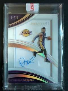 2016-17 Immaculte Autograph /35 - D'angelo Russell