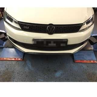 Volkswagen Jetta black samurai lip