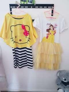 7 to 8 years girls dress