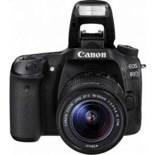 Canon Eos 80D 18-55mm Bisa Kredit DP MURAH Proses cuma 3 Menit