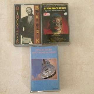 Pop Cassette Tapes Kaset