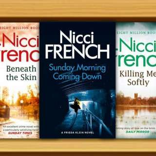 BN - Sunday Morning Coming Down, Killing Me Softly, Beneath the Skin By Nicci French