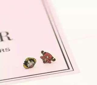 日韓手工女生兒童学生可愛无耳洞磁鉄耳環