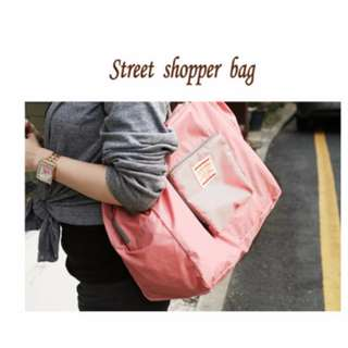 BG008 Iconic street shopper bag