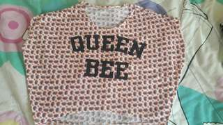 Queen bee croptop