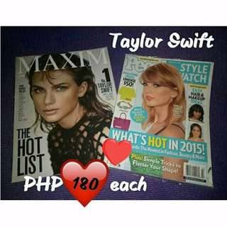 Taylor Swift Imported Magazines