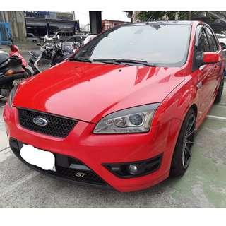 福特 FOCUS ST  06年˙ 經典紅  稀有稀有  手排