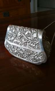 Silver Plated Lady Bag