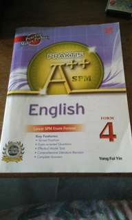 English form4 A++SPM