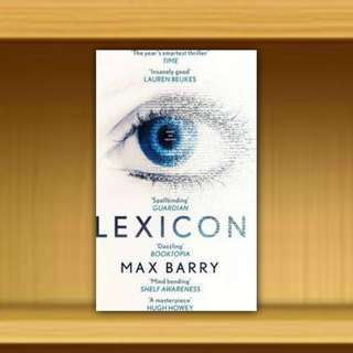 BN - Lexicon By Max Barry