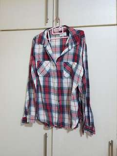 Cotton On Flannel , Checkered Blouse
