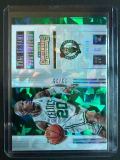 2017-18 Contenders Hall of Fame /25 - Ray Allen