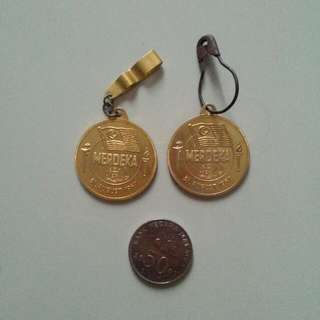 31st August 1957 Merdeka Medals Vintage 3