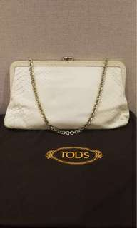 Tod's evening clutch bag