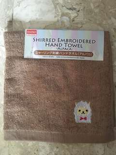 [3 FOR $5] Alpaca Embroidered Hand Towel