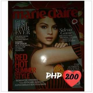 Selena Gomez Imported Magazines