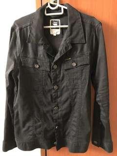 G-star Raw Black Men Jacket Blazer