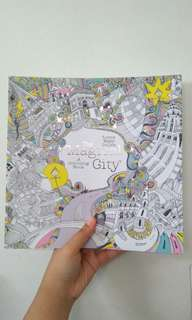 The Magical City : A coloring book
