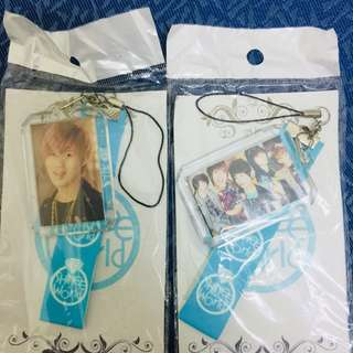 SHINee Keychain & Phone strap [ UNOFFICIAL]