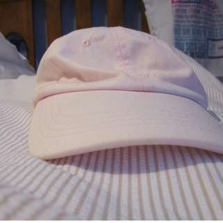 Glassons Baby Pink Embroidered Cap
