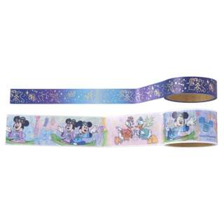 Tokyo Disneysea Disneyland Disney Resorts Sea Land Tanabata Days 2018 Masking Tape Set Preorder