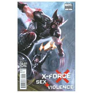 X-Force: Sex and Violence (2010) #2 (2ND PRINTING VARIANT) RARE