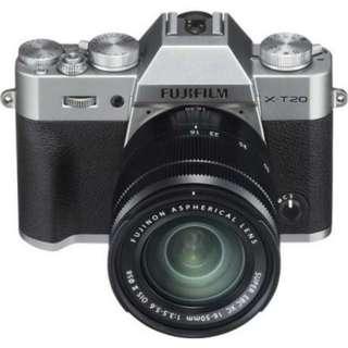Fujifilm X-T20 16-50mm Bisa Kredit DP MURAH BUNGA RENDAH Proses Cuma 3 Menit!!