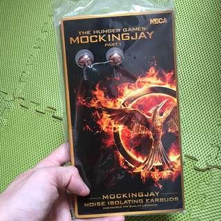 Mockingjay Hunger Games Earphones