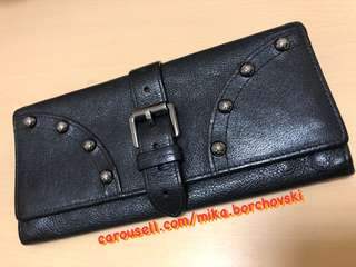 MULBERRY Studded Wallet in Black
