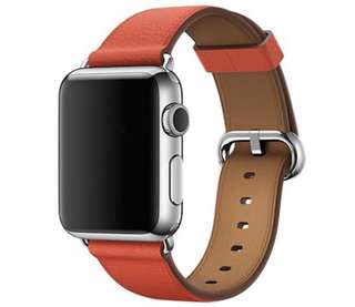 iWatch Leather Strap with Classic Buckle 38mm