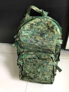 Camo SAF backpack