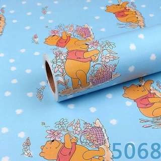 Wallpaper Stiker Dinding Winnie The Pooh