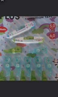 Brand New Mr Plus Correction Tapes