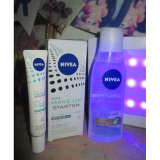 Nivea Micellar Water 200ml & Nivea Makeup Starter Moisturizing Serum #CarousellCintaBumi