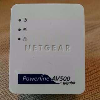 Netgear Powerline AV500 Giga Homeplug