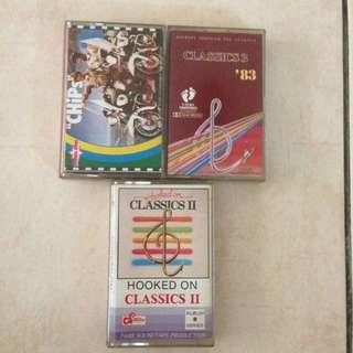 Instrumental Music Cassette Tapes Kaset