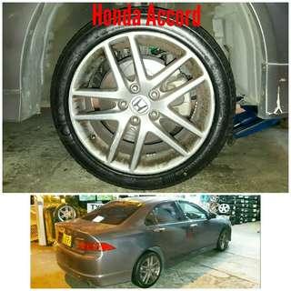 Tyre 215/45 R17 Membat on Honda Accord 🐕 Super Offer 🙋♂️