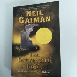 The Graveyard Book by Drave Mckean