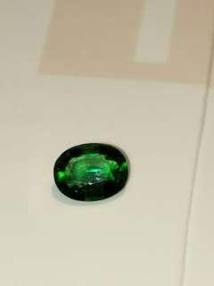 1.35克拉稀有珍貴鉻綠碧璽