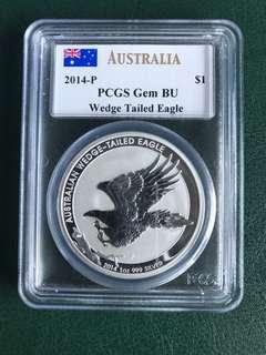 2014 Australia 1oz Silver Coin