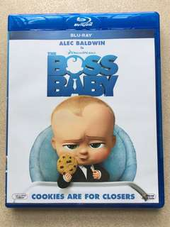 Boss baby blue ray