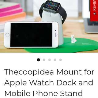 Watch/phone Mount Stand