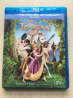 Tangled blue ray