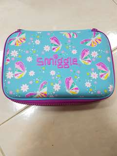 Smiggle Pencil Case : Butterfly
