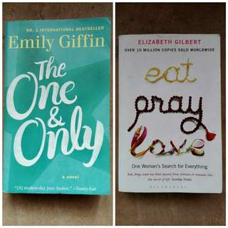 The One & Only and Eat Pray Love Bundle